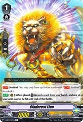 Clad-crest Lion - V-EB03/027 - R on Channel Fireball
