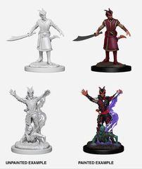Nolzur's Marvelous Miniatures - Male Tiefling Warlock.