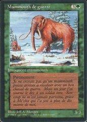 War Mammoth - French
