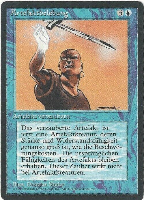 Animate Artifact - German