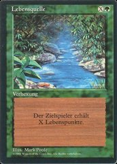Stream of Life - German