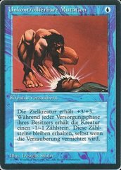 Unstable Mutation - German