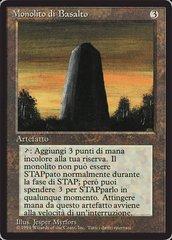 Basalt Monolith - Italian