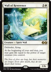 Wall of Reverence - Foil