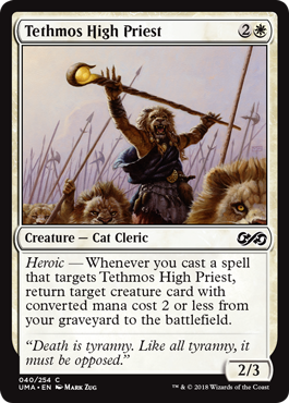 Tethmos High Priest - Foil