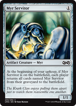 Myr Servitor - Foil