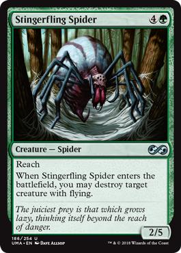 Stingerfling Spider - Foil