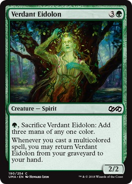 Verdant Eidolon - Foil