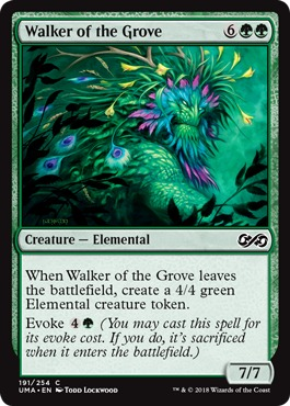 Walker of the Grove - Foil