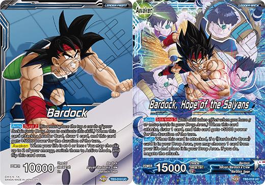 Bardock // Bardock, Hope of the Saiyans - TB3-018 - UC