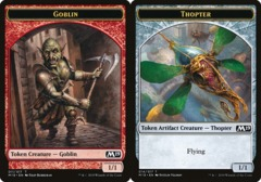 Goblin Token // Thopter Token - Game Night