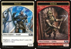 Knight Token // Goblin Token - Game Night