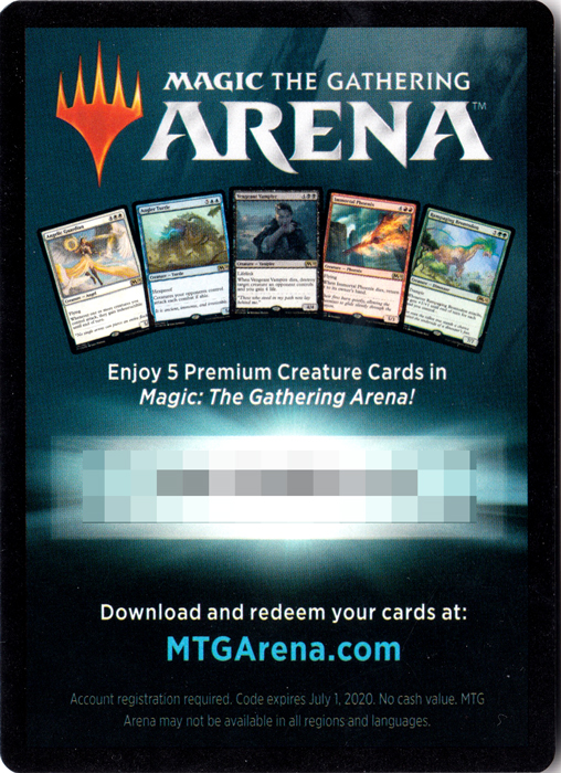 MTG Arena Code Card - Gift Pack 2018 - Magic Singles » MTG