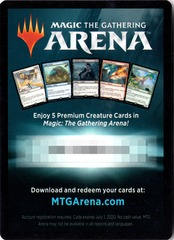 MTG Arena Code Card - Gift Pack 2018