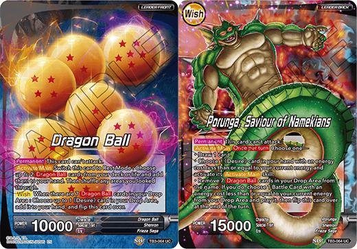 Dragon Ball // Porunga, Saviour of Namekians - TB3-064 - UC