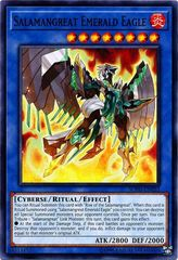 Salamangreat Emerald Eagle - SOFU-EN033 - Common - Unlimited Edition