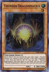 Thunder Dragonmatrix - OP09-EN006 - Super Rare - Unlimited
