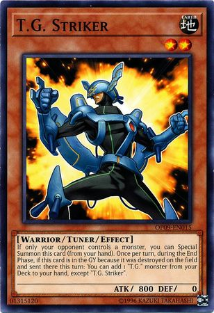 T.G. Striker - OP09-EN015 - Common - Unlimited