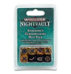 Warhammer Underworlds: Nightvault – Stormsire's Cursebreakers Dice Pack