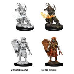 Nolzur's Marvelous Unpainted Miniatures - Male Human Druid