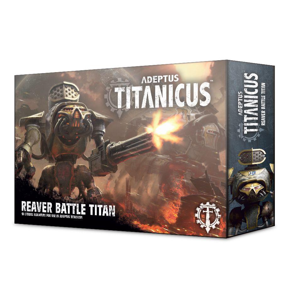 Adeptus Titanicus Reaver Battle Titan