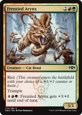 Frenzied Arynx - Foil
