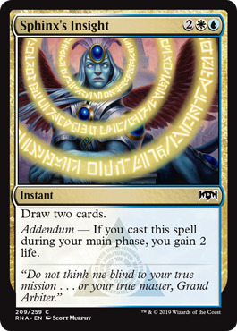 Sphinxs Insight - Foil