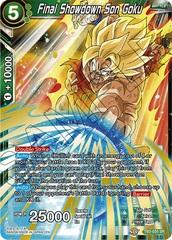 Final Showdown Son Goku - TB3-035 - SR on Channel Fireball