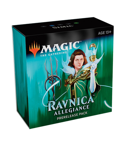 Ravnica Allegiance Prerelease Pack - Simic