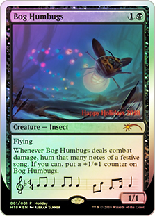 Bog Humbugs - Foil Holiday 2018 Promo