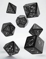 Steampunk Dice Set black & white (7)