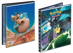 Ultra Pro 4-Pocket Portfolio Pokemon Pikachu & Zekrom GX