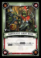 Arrogant Grot Boss (Claimed) - Foil