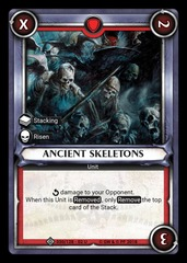 Ancient Skeletons (Claimed) - Foil