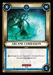 Arcane Corrasion (Claimed)