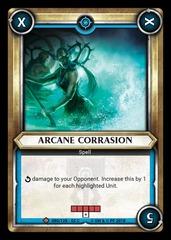 Arcane Corrasion (Claimed) - Foil