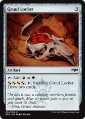 Gruul Locket - Foil