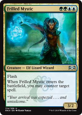 Frilled Mystic - Foil
