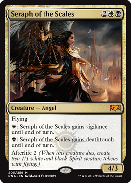 Seraph of the Scales - Foil