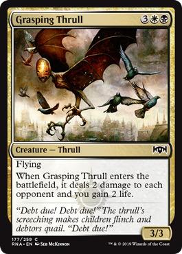 Grasping Thrull - Foil