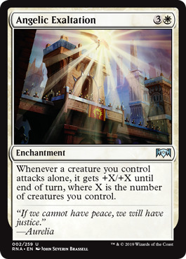 Angelic Exaltation - Foil