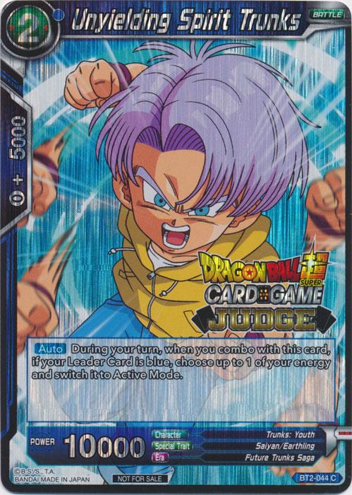 Dragon Ball Super Vegeta Powerful As Ever Foil JUDGE PROMO Card P-032 PR Card