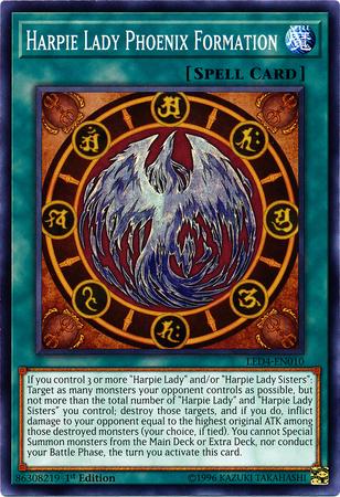 Harpie Lady Phoenix Formation - LED4-EN010 - Common - 1st Edition