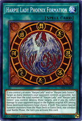Harpie Lady Phoenix Formation - LED4-EN010 - Common - 1st Edition