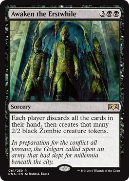 Awaken The Erstwhile - Foil