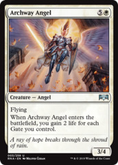 Archway Angel - Foil on Channel Fireball