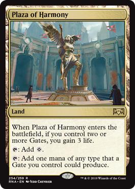 Plaza of Harmony - Foil