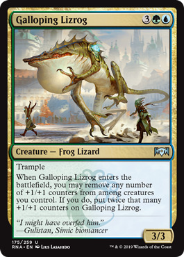 Galloping Lizrog