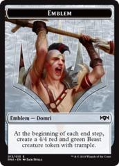 Emblem - Domri, Chaos Bringer