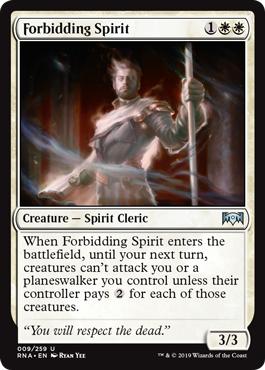 Forbidding Spirit - Foil